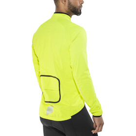 Shimano Performance Stretchable Windbreak Jacket Men neon yellow